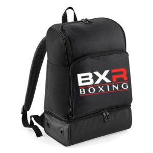 BXR Boxing Hardbase Backpack – Black/Black