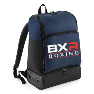 BXR Boxing Hardbase Backpack – Navy/Black