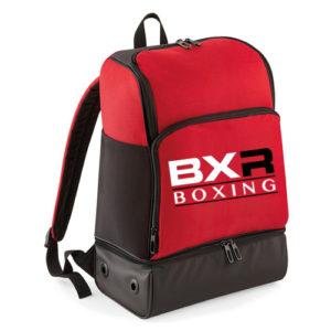 BXR Boxing Hardbase Backpack – Red/Black