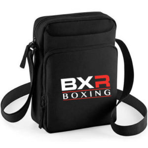 BXR Corner Across Body Bag – Black