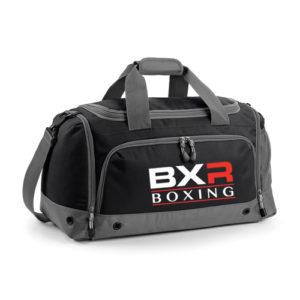 BXR Boxing Kit Holdall – Black/Grey