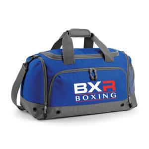 BXR Boxing Kit Holdall – Royal Blue/Grey