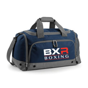 BXR Boxing Kit Holdall – Navy/Grey