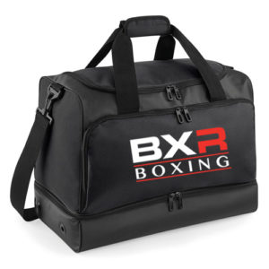 BXR Boxing Hardbase Kit Holdall – Black/Black