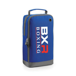 BXR Boxing Boot/Accessory Bag – Royal Blue/Grey
