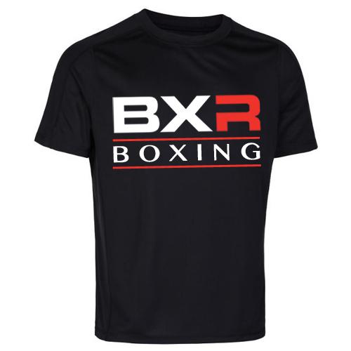 BXR Boxing Cool-Tec Training T-Shirt – Black