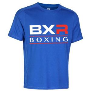 BXR Boxing Cool-Tec Training T-Shirt – Royal Blue