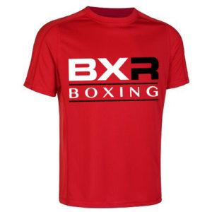 BXR Boxing Cool-Tec Training T-Shirt – Red