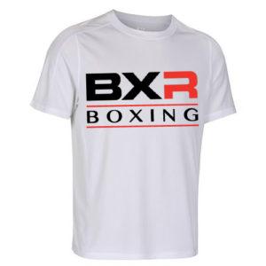 BXR Boxing Cool-Tec Training T-Shirt – White