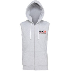 BXR Boxing Sleeveless Zoodie – Grey