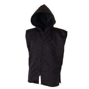 Sleeveless Ring Jacket – Black