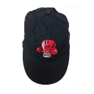 Cleto Reyes Red Logo Cotton Baseball Cap – Black