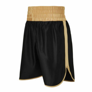 Burnett Gold & Black Boxing Shorts