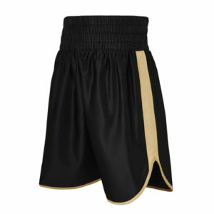 Burnett Black & Gold Boxing Shorts