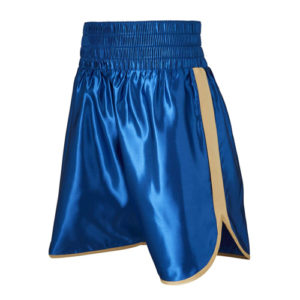Burnett Blue & Gold Boxing Shorts