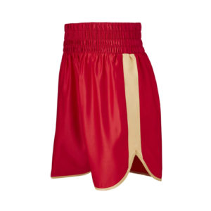 Burnett Red & Gold Boxing Shorts