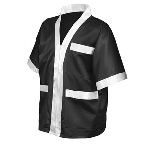 Classic Corner Jacket – Black/White