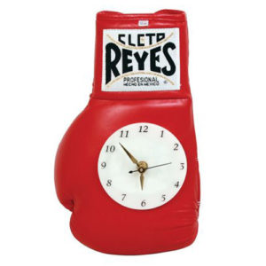 Cleto Reyes Boxing Glove Clock – Red