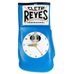 Cleto Reyes Boxing Glove Clock – Blue