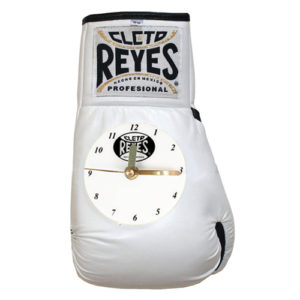 Cleto Reyes Boxing Glove Clock – White