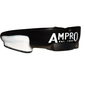 Ampro Shock Armour Mouthguard – Black/White