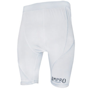 Ampro Performance Base Layer Shorts – White