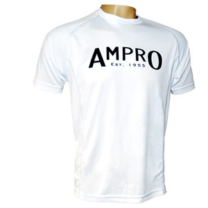 Ampro Junior Performance Training Tee – White
