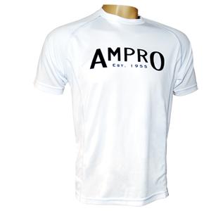 Ampro Junior Performance Training Tee – White
