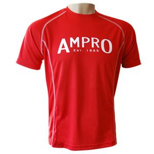 Ampro Performance Training Tee – Navy