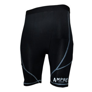 Ampro Performance Base Layer Shorts – Black