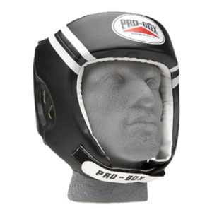 Pro-Box 'Club Essentials' Headguard – Black/White