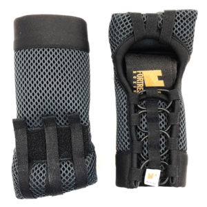 Fortress Boxing ProElite Super Slim PE|SS Fast Wraps – Black/Grey