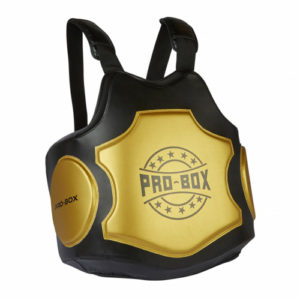 Pro-Box Hi-Impact Body Protector – Black/Gold