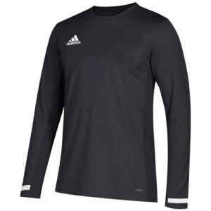 Adidas Men's T19 Long Sleeve Jersey – Black