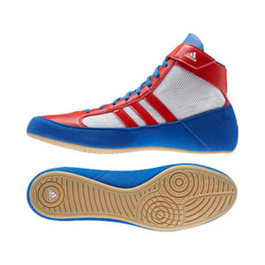 Adidas Havoc Junior Wrestling Shoe – Red/White/Blue
