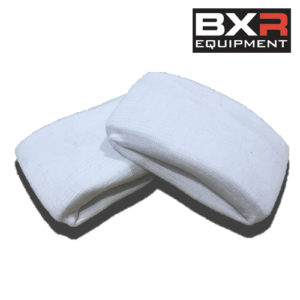 BXR Knuckle Guard/Gel Wrap – White