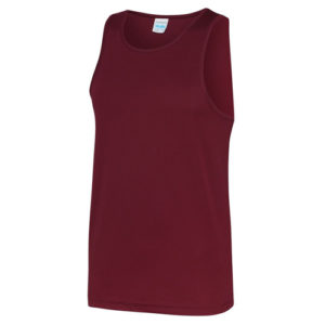 Plain Classic Cool-Tec Boxing Vest – Burgundy