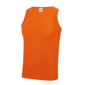 Plain Classic Cool-Tec Boxing Vest – Electric Orange