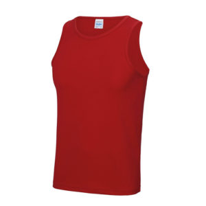 Plain Classic Cool-Tec Boxing Vest – Red