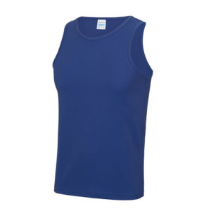 Plain Classic Cool-Tec Boxing Vest – Royal Blue