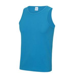 Plain Classic Cool-Tec Boxing Vest – Sapphire Blue