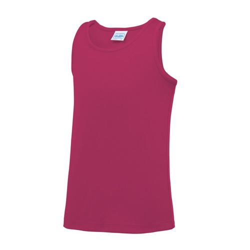 Plain Junior/Kids Classic Cool-Tec Boxing Vest – Pink