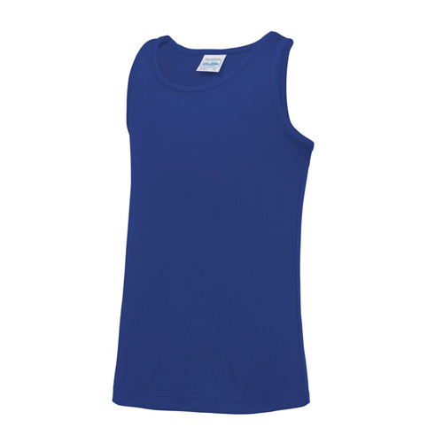 Plain Junior/Kids Classic Cool-Tec Boxing Vest – Sapphire Blue
