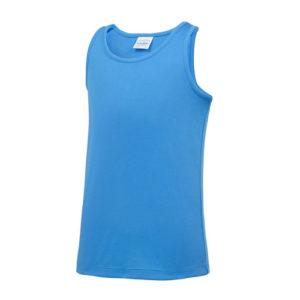 Plain Junior/Kids Classic Cool-Tec Boxing Vest – Sapphire Blue
