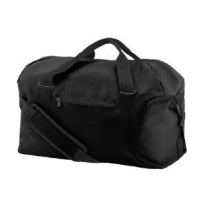 UNBRANDED Medium Size Gym Holdall / Kit Bag – Black