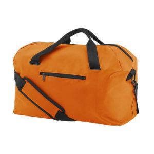 UNBRANDED Medium Size Gym Holdall / Kit Bag – Orange