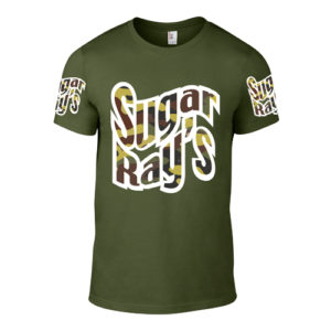 Sugar Ray's T-Shirt – Khaki/Camo Green