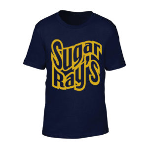 Sugar Ray's Junior T-Shirt with Large Logo – Navy