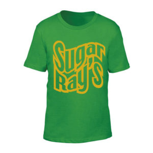 Sugar Ray's Junior T-Shirt with Large Logo – Green