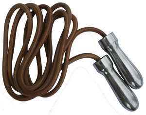 Lonsdale Classic Leather Skipping Rope 8ft